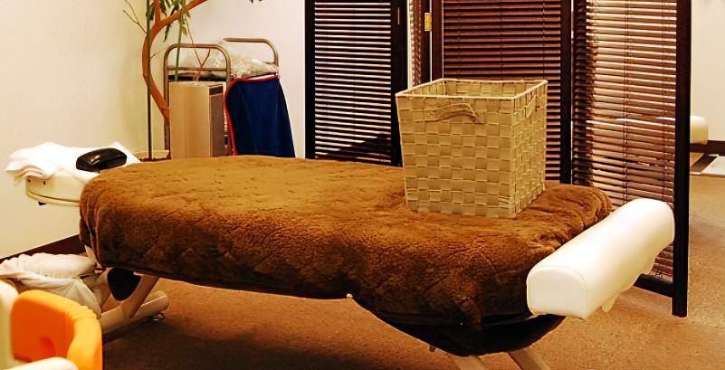 ヴァースカイロプラクティック境 三鷹 マッサージ  カイロプラスティック施術用のベット写真